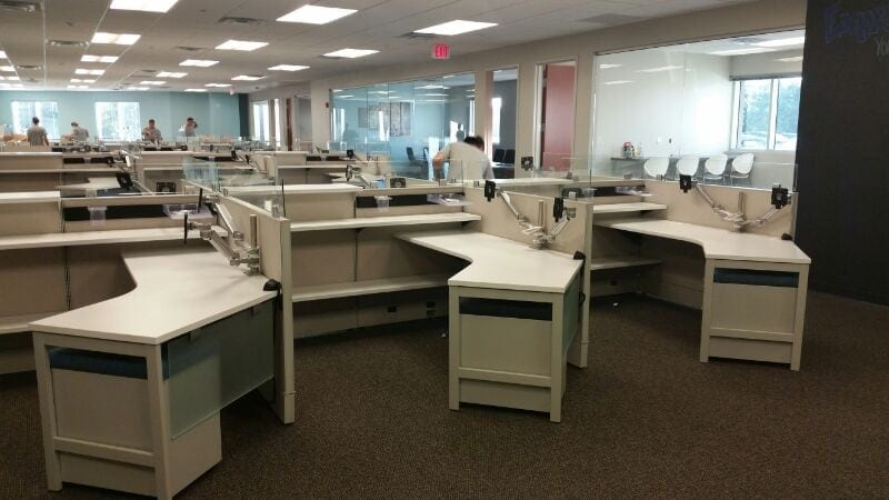Office Furniture Installation At Peachtree Special Risk Services U2013 St.  Petersburg, FL
