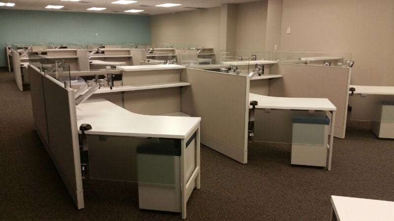 Office Furniture Installation At Lynx Services Fort
