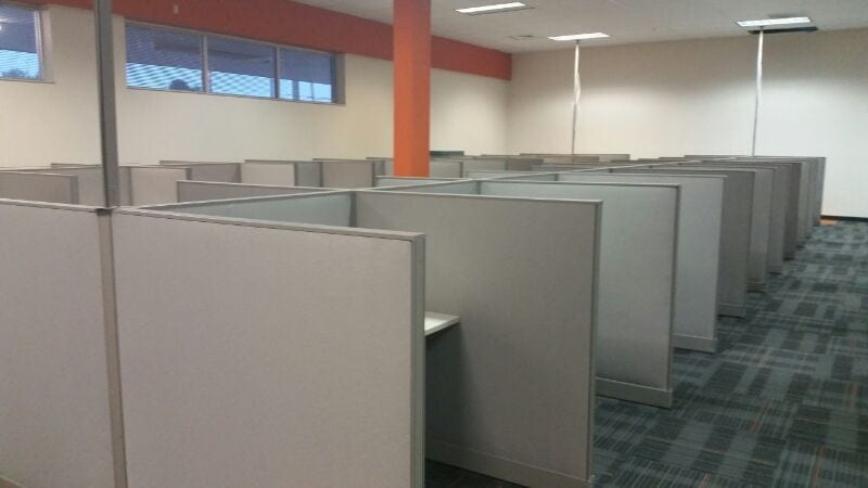 Office Furniture Installation At Lynx Services U2013 Fort Myers, FL