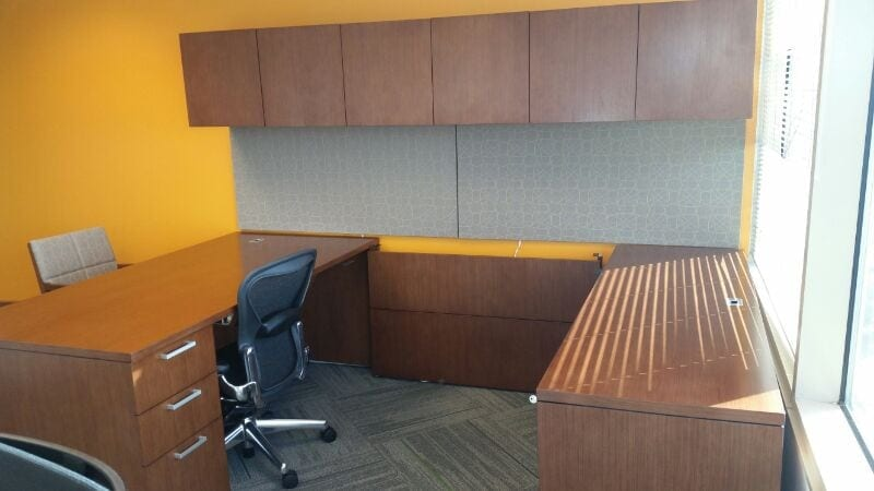 Office Furniture Installation At Aflac Tampa Fl