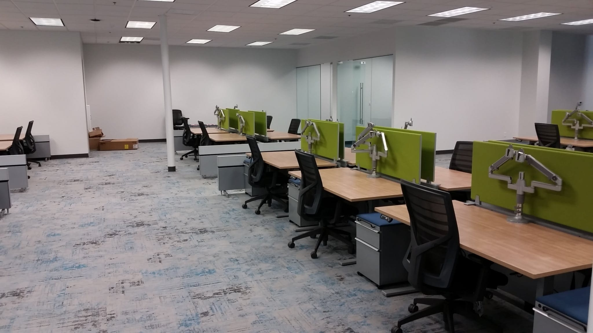 Office Furniture Installation At Malware Bytes