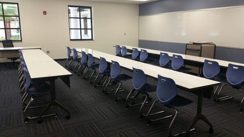 Office Furniture Installation At Berkeley Preparatory School