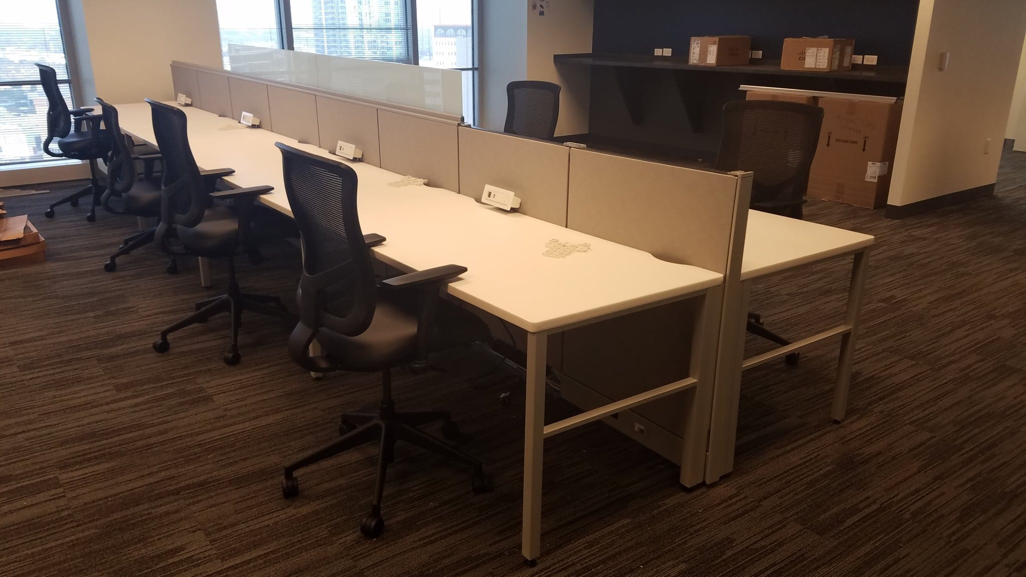 Tampa Bay Office Furniture Installation Company Office