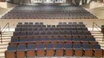 Fixed Seating Installation at Solano Community College-Fairfield, CA
