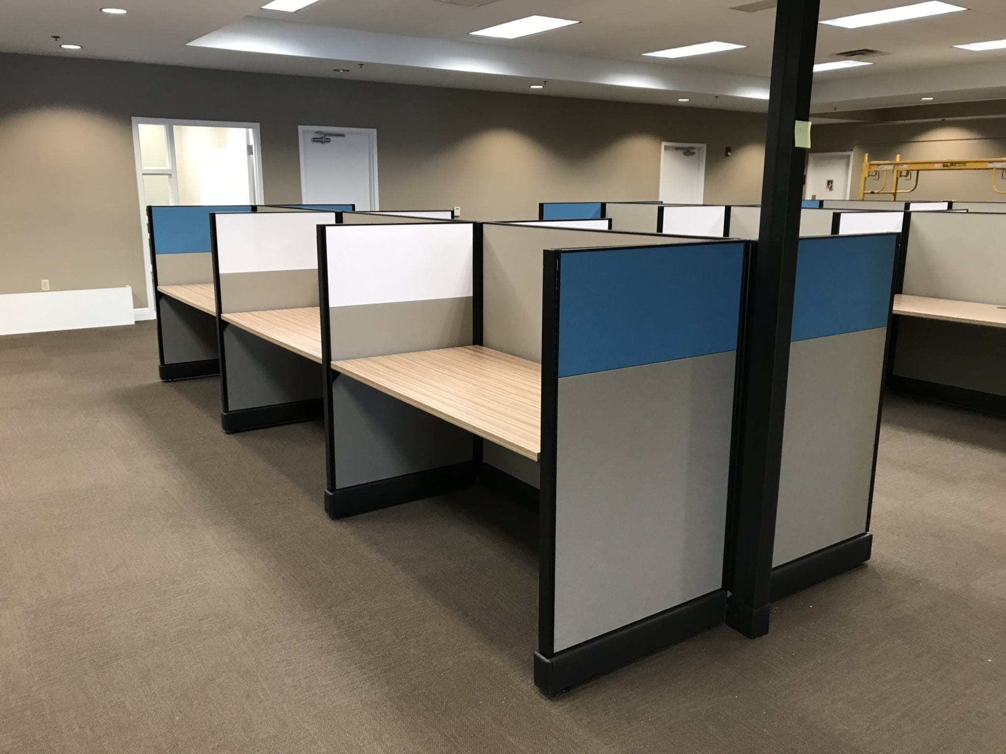 Office Furniture Installation At Auto Customs Real Truck