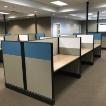 Office Furniture Installation in Auto Customs/Real Truck by Quality Installers.