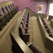 Fixed Seating Installation at Magical Arts in Huntingdon Valley, PA