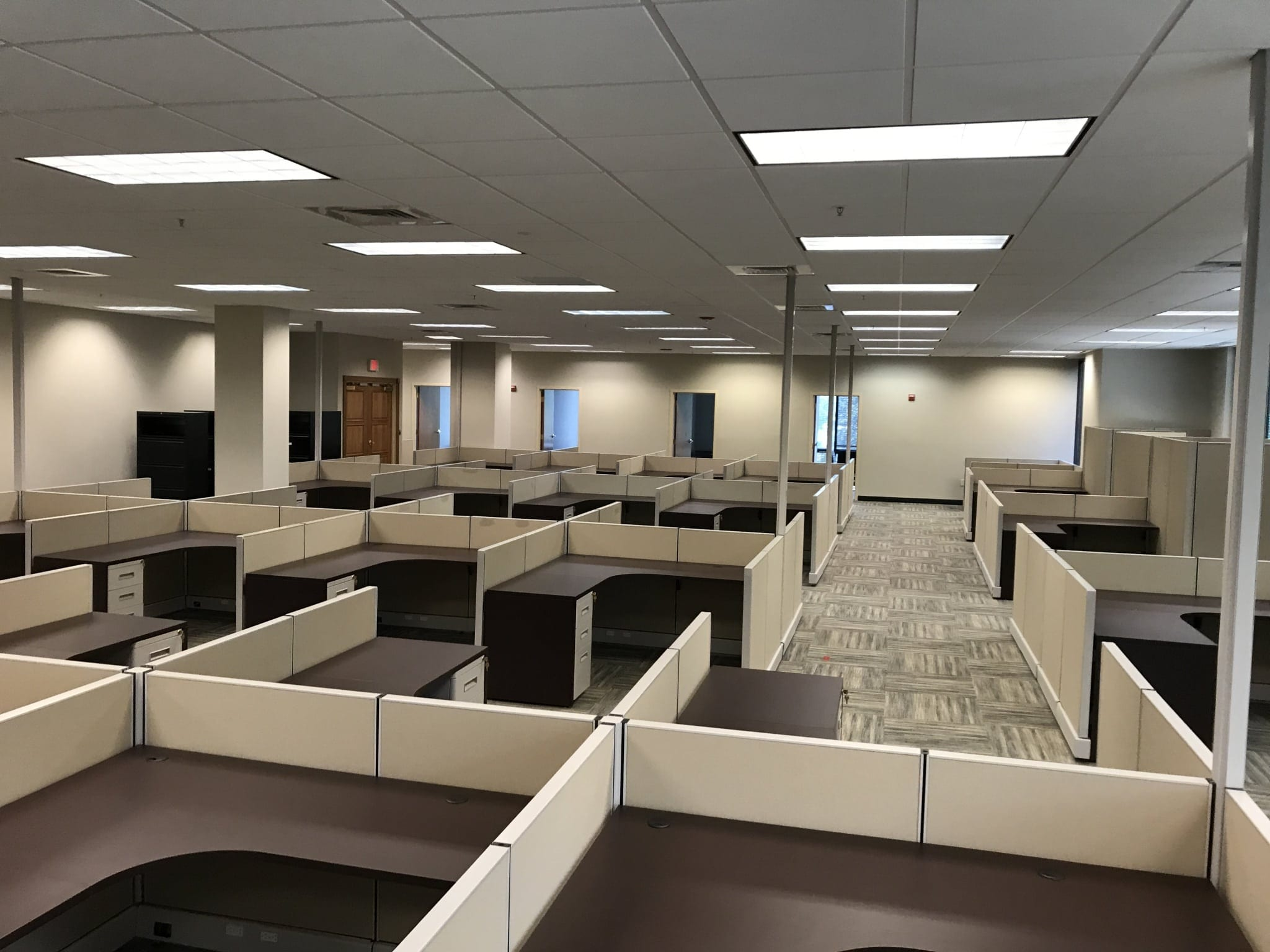 Tremendous Office Furniture Installation At Herc Rentals In Bonita Home Interior And Landscaping Ologienasavecom