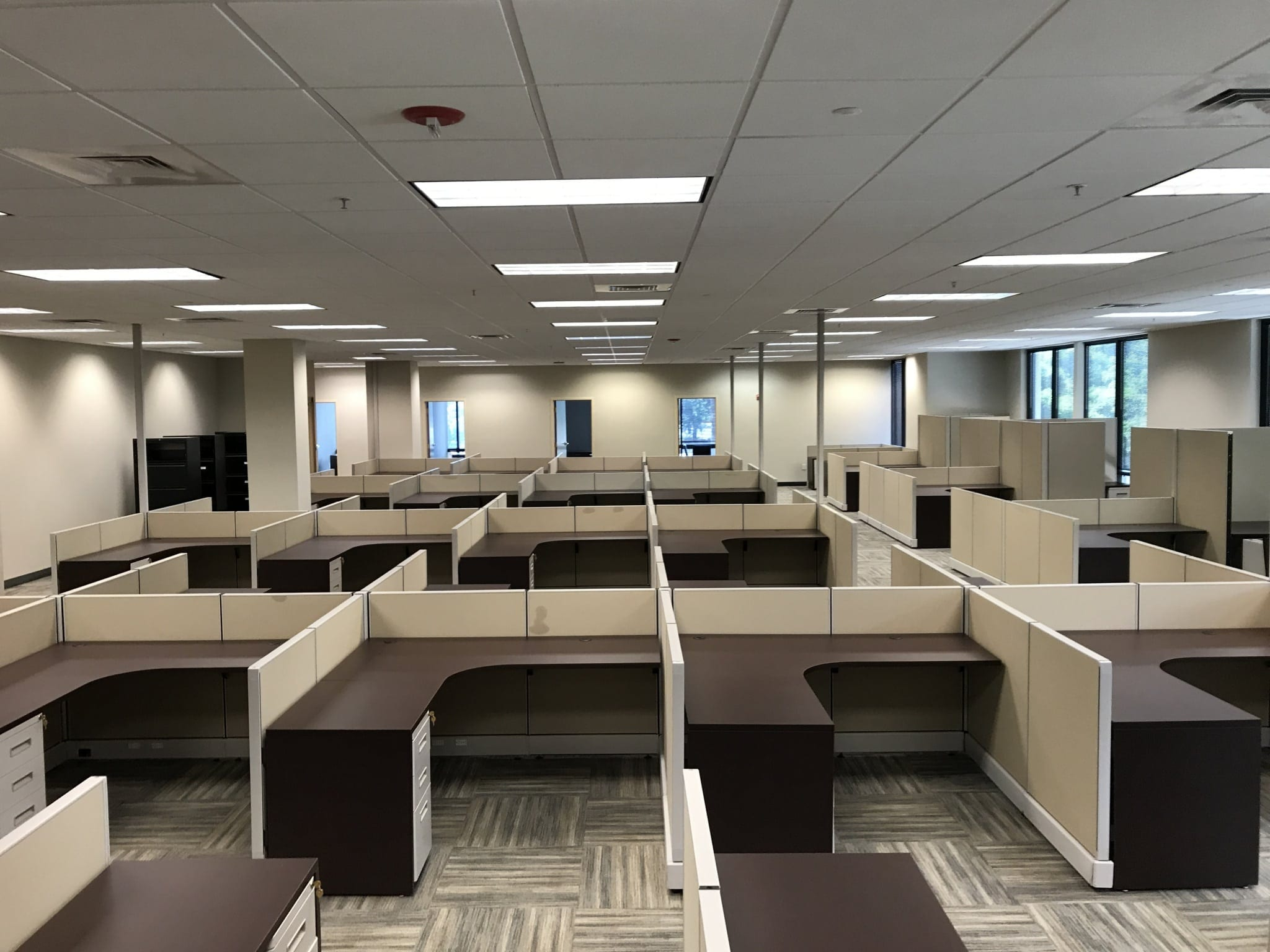Awesome Office Furniture Installation At Herc Rentals In Bonita Home Interior And Landscaping Ologienasavecom