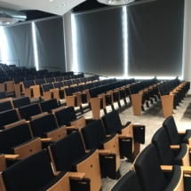 Fixed Seating Installation at University Of Syracuse by Quality Installers