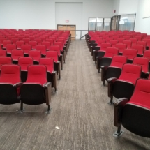 Fixed Seating Installation at Western Kentucky University-Bowling Green, KY