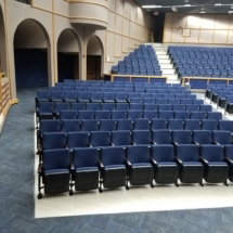 Fixed Seating Installation at University High School-Orlando, FL