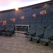 Fixed Seating Installation at the South Florida Museum of Bradenton, FL