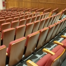Fixed Seating Installation at Ripon College-Ripon, WI
