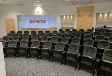 Fixed Seating Installation at Claas of Omaha - Omaha, NE