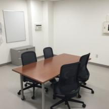 Office furniture installation at Akizuki Army Ammunition Depot in Camp Kure, Japan