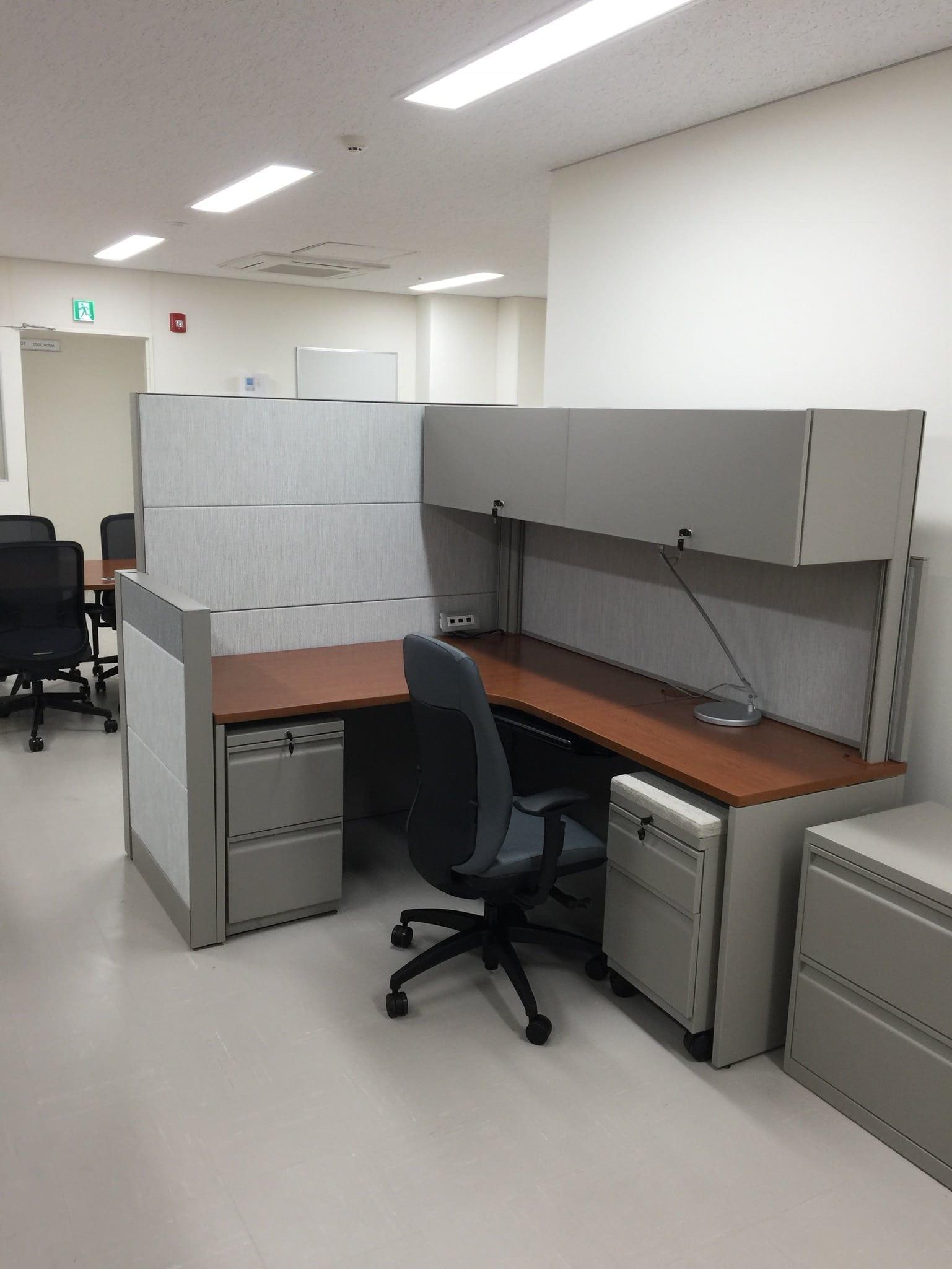 Office Furniture Installation At Akizuki Army Ammunition Depot In Camp Kure An