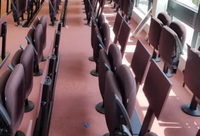 Fixed Seating Installation at Hult Business School in Cambridge, MA
