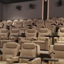Fixed Seating Installation at Cinepolis in Pacific Palisades, CA