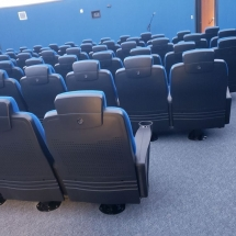Fixed Seating Installation at US Air Force Academy-8