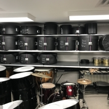 GearBoss Shelving and Instrument Storage Cabinets Installation at Delta State University