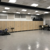 GearBoss Shelving and Instrument Storage Cabinets Installation at Delta State University-Photo Nov 08, 9 12 43 PM