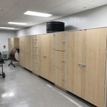 GearBoss Shelving and Instrument Storage Cabinets Installation at Delta State University-Photo Nov 08, 9 12 44 PM