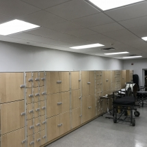 GearBoss Shelving and Instrument Storage Cabinets Installation at Delta State University-Photo Nov 08, 9 12 49 PM