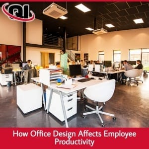 How Office Design Affects Employee Productivity