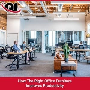 How The Right Office Furniture Improves Productivity