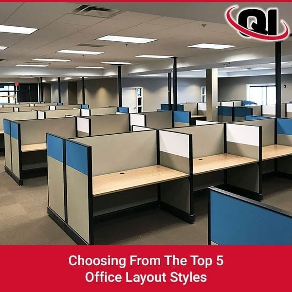 Choosing From The Top 5 Office Layout Styles