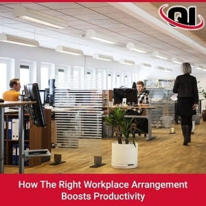 How The Right Workplace Arrangement Boosts Productivity