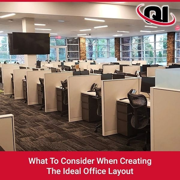 What to Consider When Creating the Ideal Office Layout