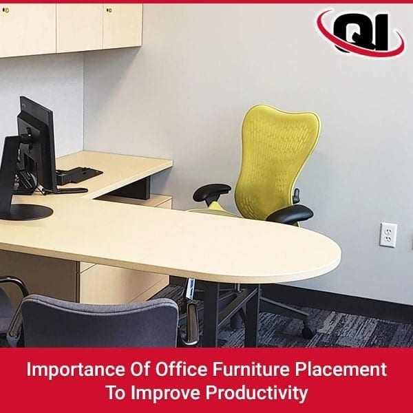 Importance Of Office Furniture Placement To Improve Productivity