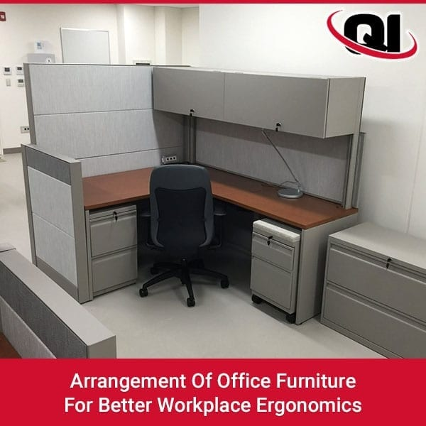 Arrangement Of Office Furniture For Better Workplace Ergonomics