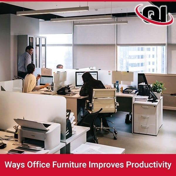 Ways Office Furniture Improves Productivity