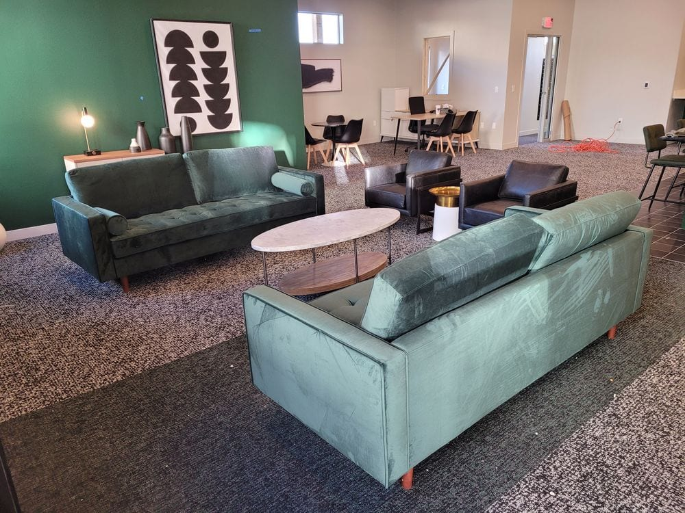 Furniture Installation At The Railyard, Furniture Grand Junction Colorado Hours